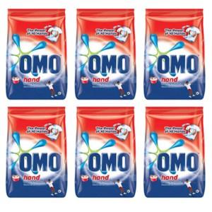 Omo Hand Washing Powder 300g x 6