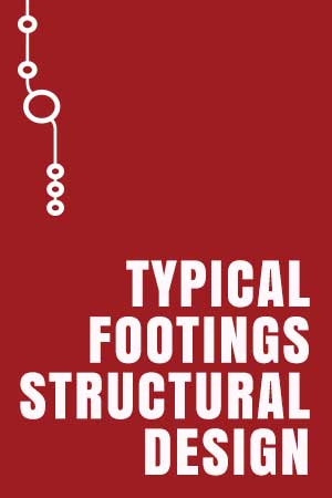 Typical Footings Structural Drawing