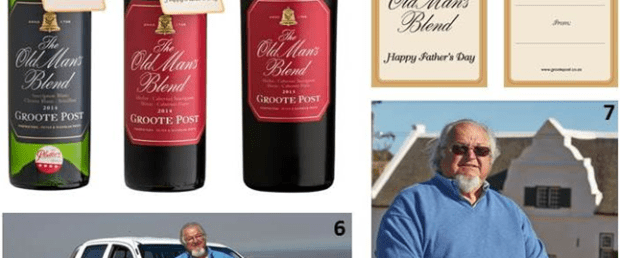 Groote Post Wine Fathers Day