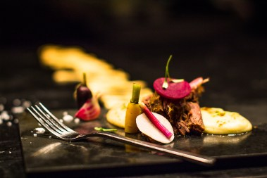 Eight hour lamb with pomme puree & seasonal vegetables 4 Pic by Francisco Nwamba