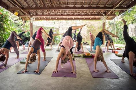 Yin Yoga Teacher Training I with Sebastian Pucelle & Murielle Burellier at the Yogarden, Bophut, Koh Samui, Thailand