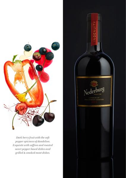 Nederburg Ingenuity Spanish Red 2015 stiched with pack shot LR (Copy)