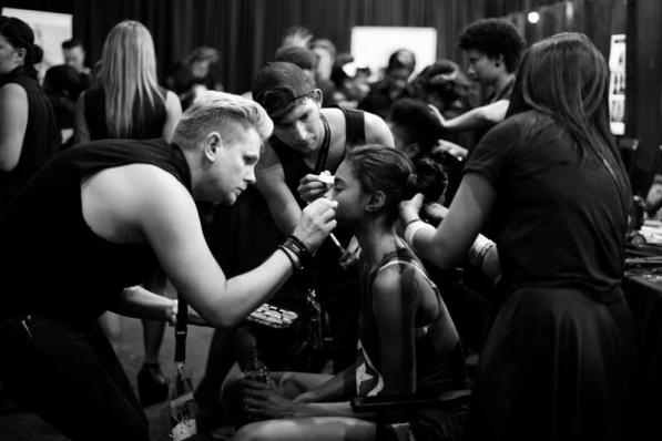 MAC and ghd behind the scenes (Copy)