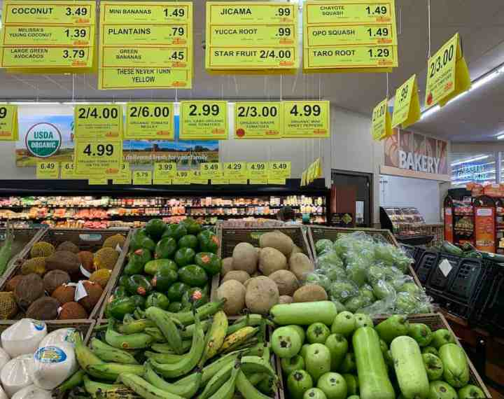 Exotic Produce Selection at Woodmans Lakemoor IL