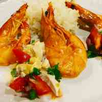 Caramelized Shrimp with 7UP