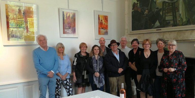 Les artistes du Festival International d'Aquarelle du Perche - mai 2018