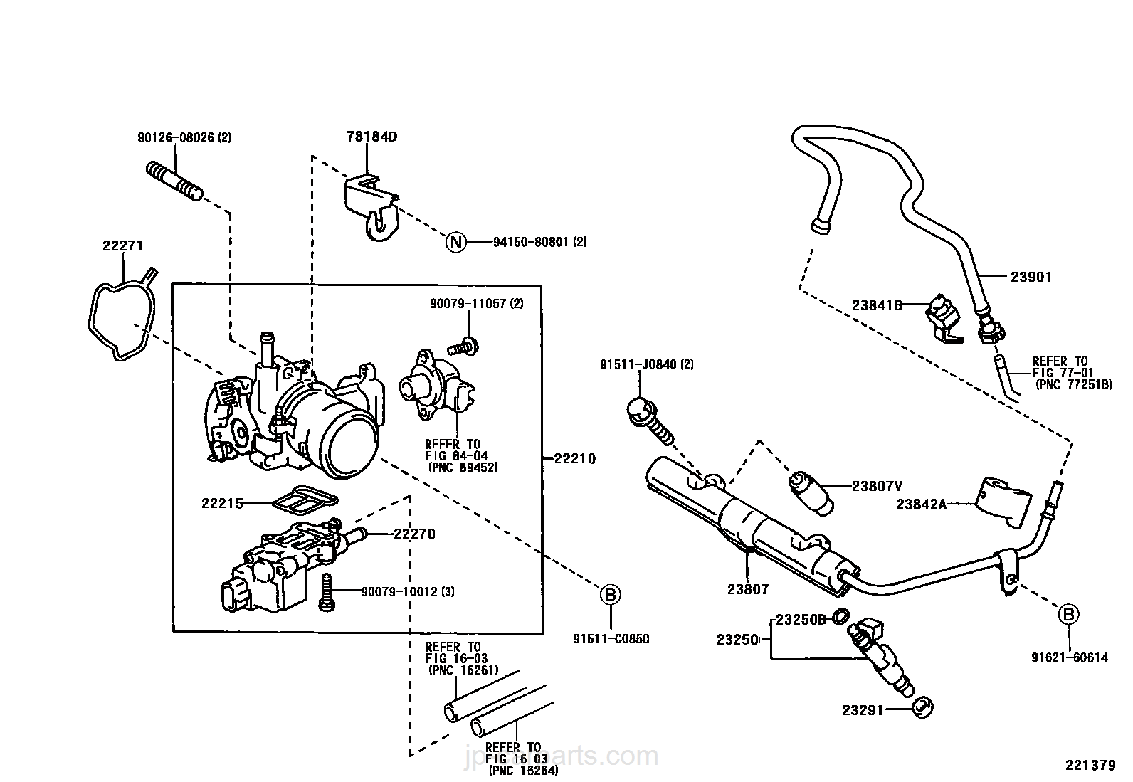 Fuel Injection System Toyota