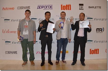 Лауреаты 13-го кинофестиваля