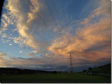 Закат перед фейерверком