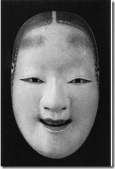 Женская маска молодой красавицы