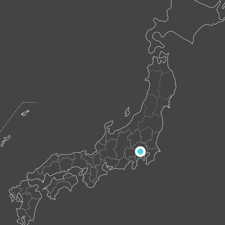 location of 東京都