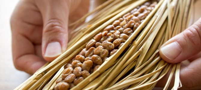 Food that Japanese people eat on a daily basis – Natto (納豆).