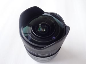 中古品 オリンパス OLYMPUS M.ZUIKO DIGITAL ED 8mm F1.8 Fisheye PRO レンズ