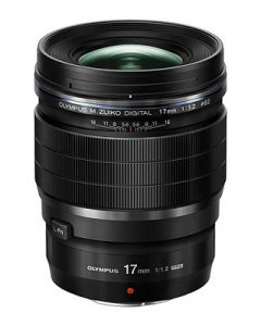 OLYMPUS | オリンパス M.ZUIKO DIGITAL ED 17mm F1.2 PRO (35mm判換算 34mm相当)