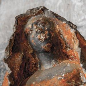 Pietà XIV ème siècle - Eglise de Floirac - Détail