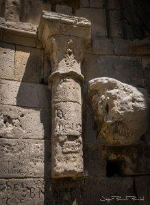 Ruines de la chapelle Thomas Becquet du donjon du château de Gisors