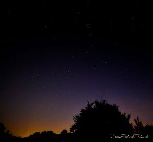 Ciel nocturne du Haut-Quercy, la Grande Ours