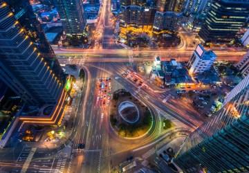 韓国・ソウルの夜景