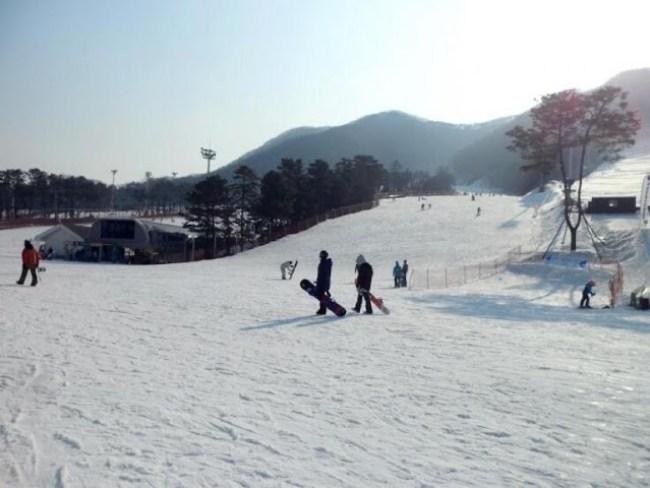 asia korea seoul winter sports skiing8