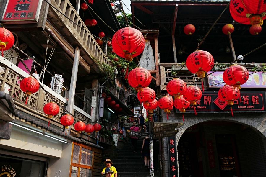 台湾おすすめの観光スポット:九份(きゅうふん/ジョーフェン)老街