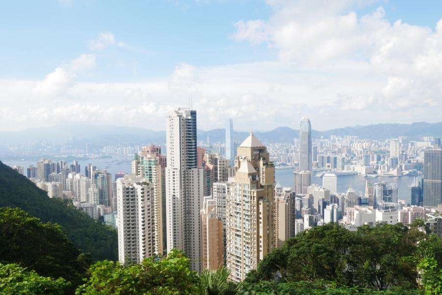 hongkong victoria peak peak tram P1230109