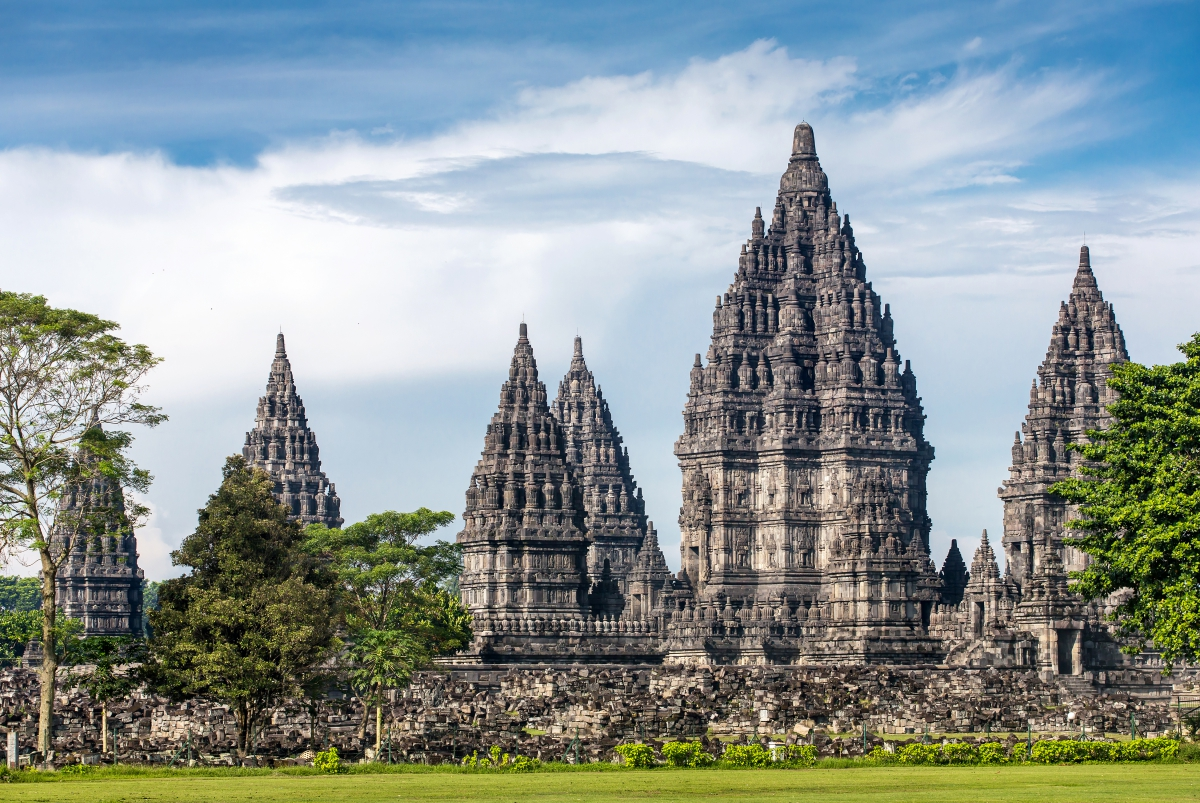 south east asia world heritage Indonesia Candi Prambanan Ubud AShutterstock 389548894