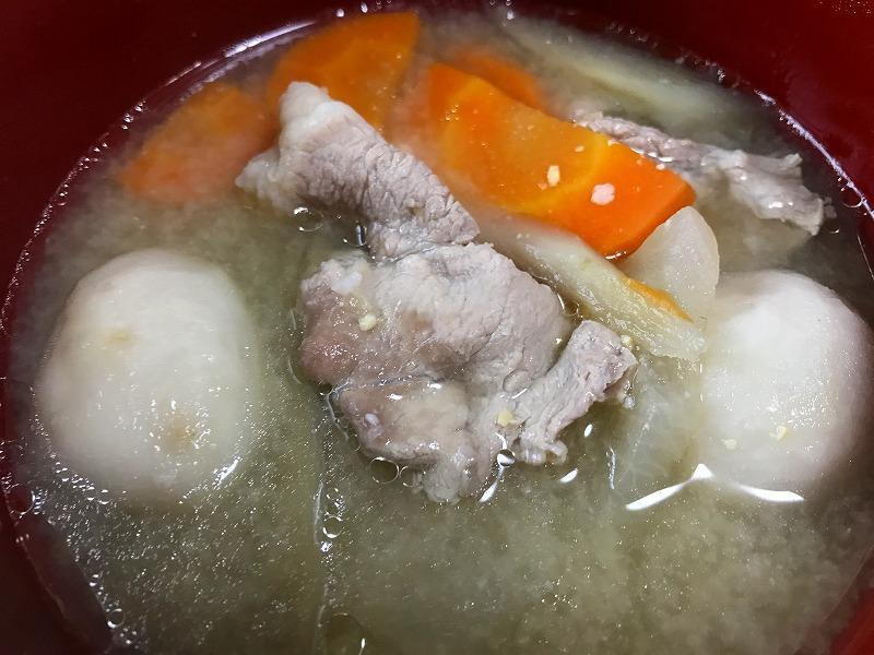宮城風芋煮