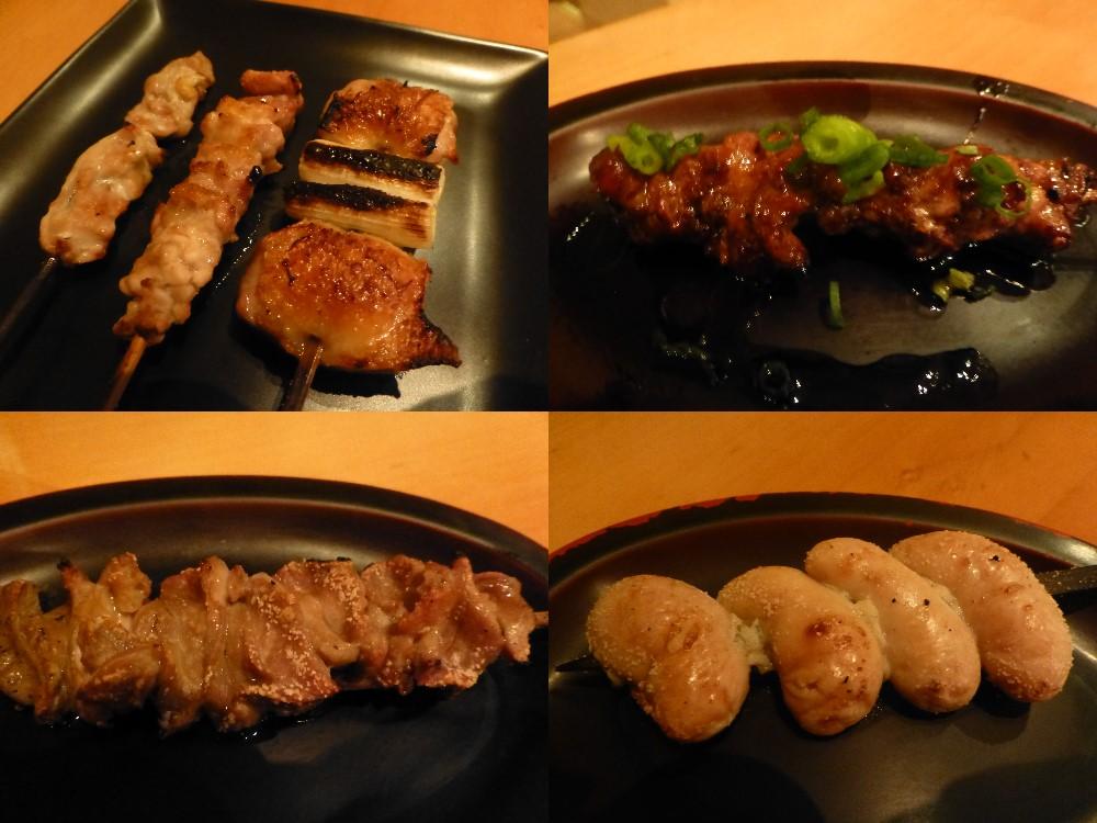 川俣シャモ串焼き