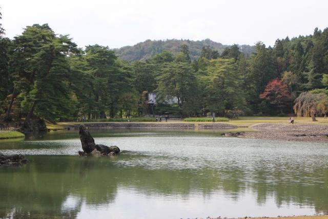 毛越寺大泉が池