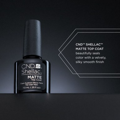 SHELLAC™ MATTE TOP COAT