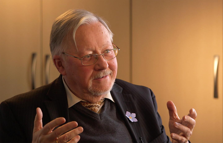 Vytautas Landsbergis, interviewee on John Paul 2: Liberating a Continent, the Fall of Communism.