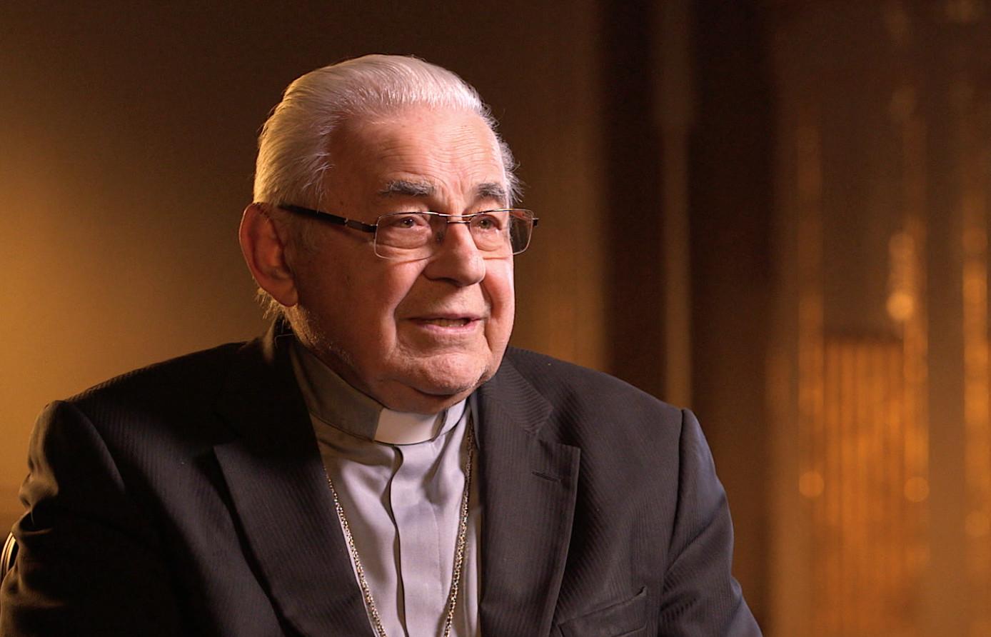 Cardinal Miloslav Vlk, interviewee on John Paul 2: Liberating a Continent, the Fall of Communism.