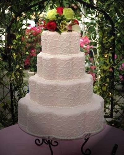 Petal Shaped Pans Wedding Cakes Juxtapost