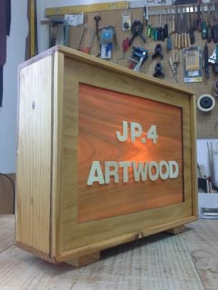 Rotulo taller jp.4artwood