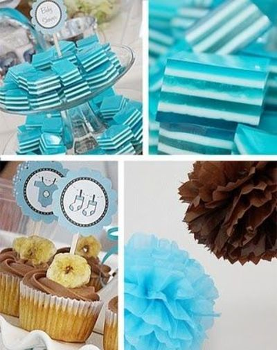 Baby Shower Party Get Blue And Brown Favors To Match Your Decor Theme Bathroom Tsc