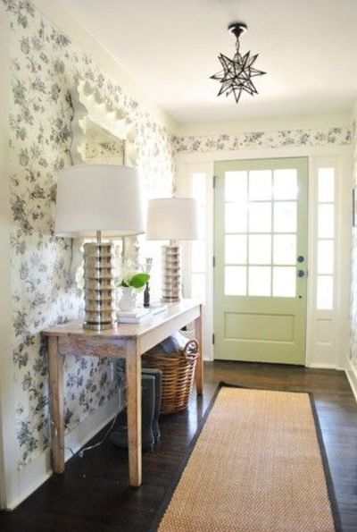 Beachy foyer lighting. view more entrances foyers. console table ...