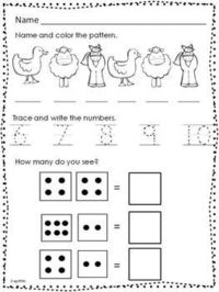 Posts Similar To October Morning Work Kindergarten