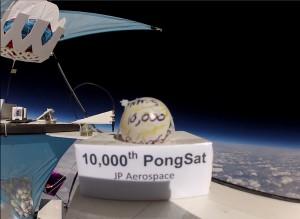 10000th Pongsat - JP Aerospace