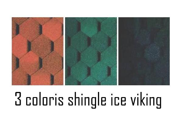 Ice viking 9,60 m2 - Coloris shingle