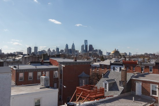 Apartment photographer work: View from roof