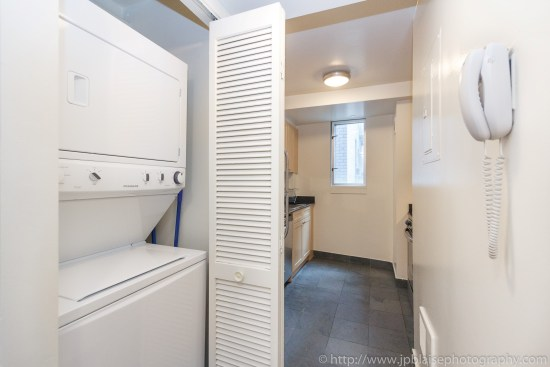 Apartment photographer New York City Two Bedroom Midtown East NY kitchen