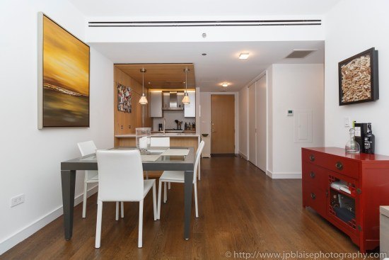 Apartment photographer real estate interior condo one bedroom east village dining area