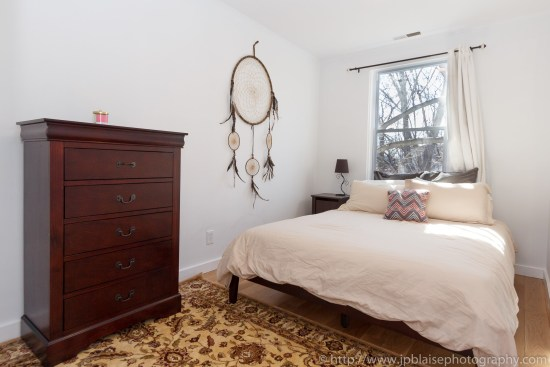 Brooklyn Real Estate photographer three bedroom apartment NYC New York bed 2