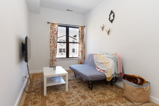 Brooklyn Real Estate photographer three bedroom apartment NYC New York living area