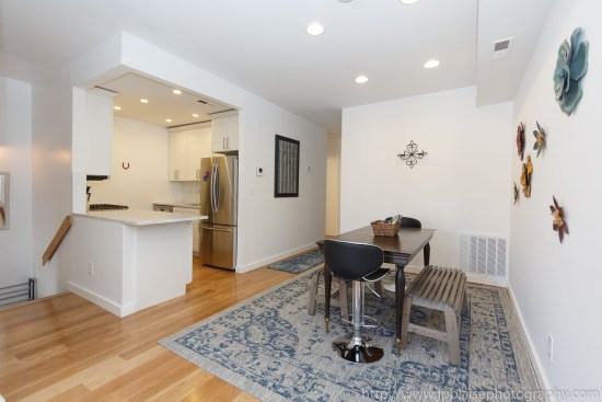 Brooklyn Real Estate photographer three bedroom apartment NYC New York living room
