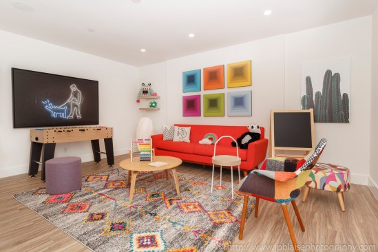 Brooklyn apartment photographer new york interior real estate duplex nyc ny play room