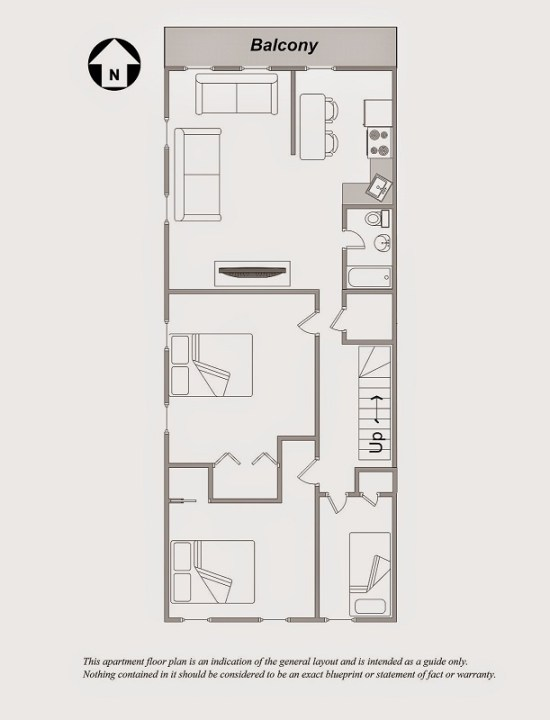 Professional Floor Plan drawing for New York Apartment in Chelsea