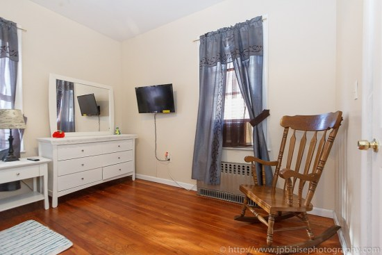 Real Estate photographer work: picture of a bedroom of an apartment in East Flatbush, Brooklyn, New York City