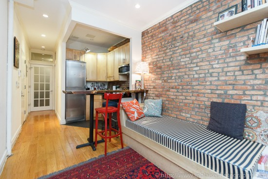 Interior photography of east-village apartment in New York City
