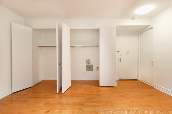 NY airbnb real estate interior apartment photographer upper east side manhattan ny new york Living room closets